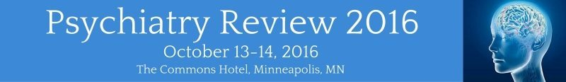 Psychiatry Review 2016 Banner