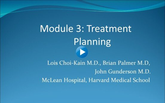 Module 3: Treatment Planning